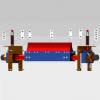 实际价格可商议 二道聚氨酯清扫器 各种型号  带宽500 B~2200 B  带式输送机