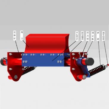 价格需洽谈 一道聚氨酯清扫器 带宽范围500~2200B  装有弹簧张力调整器 多幅聚氨酯刀头