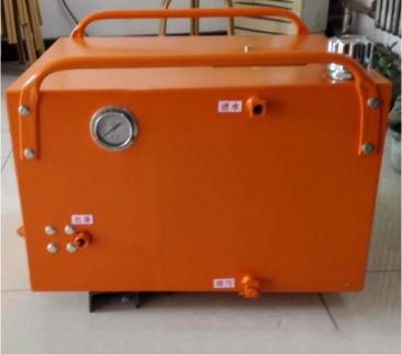 钻井气动乳化液泵站ZBQ7.5/25 注液泵 立式液压泵站 气动注液泵 便携式液压支柱注液泵