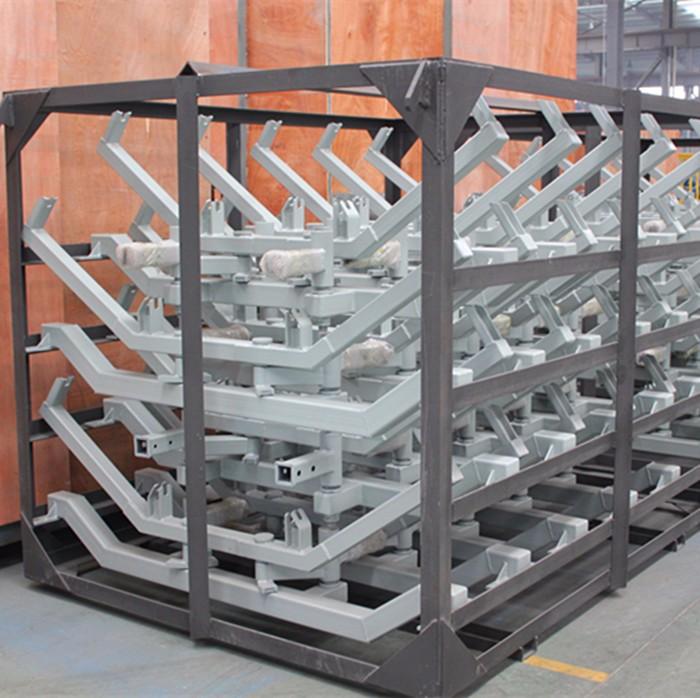 定制加工运输机钢结构 运输机桁架托辊架等 优质钢材精制 来图加工
