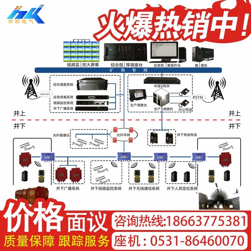 煤炭矿用本安型无线通信系统加工定制KT158煤炭无线通信系统(WIFI)