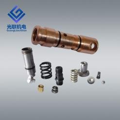矿用三用阀配件 锥形弹簧 卸载阀垫 钢球φ8质量保证