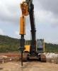 大型机载式劈裂机厂家直销 柴油劈裂机分裂能力强