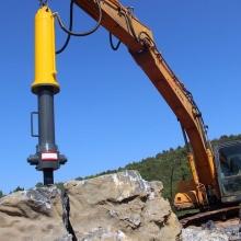 液压采石场劈裂机 机载式岩石劈裂机破石机岩石山体劈裂 厂家直销
