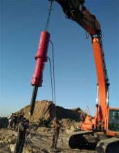 厂家直销机载式劈裂机 定制大型机载式分裂机 岩石机载式劈裂机