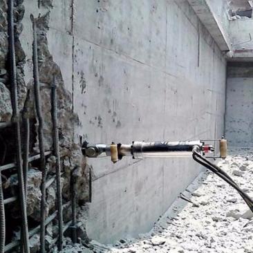 替代破碎锤钢筋混凝土拆除设备 迪戈液压劈裂机 静音免爆破设备