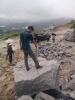 开采矿山的时候遇到坚硬的石头打不动怎么办
