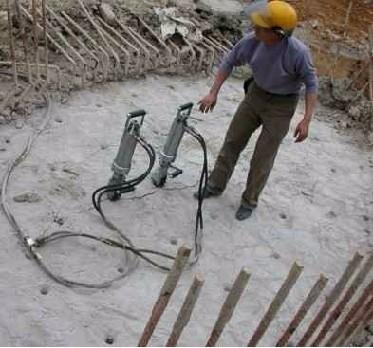 钢筋混凝土墙壁快速拆除设备岩石分裂机 迪戈劈裂机 劈破机