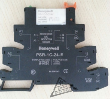 霍尼韦尔Honeywell超薄继电器 SR-1C-DC24V 24VDC 配底座 PSR-1C-24