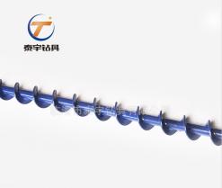 高效螺旋钻杆、腾麻钻杆、新型煤钻杆、Φ69-F18方螺旋钻杆