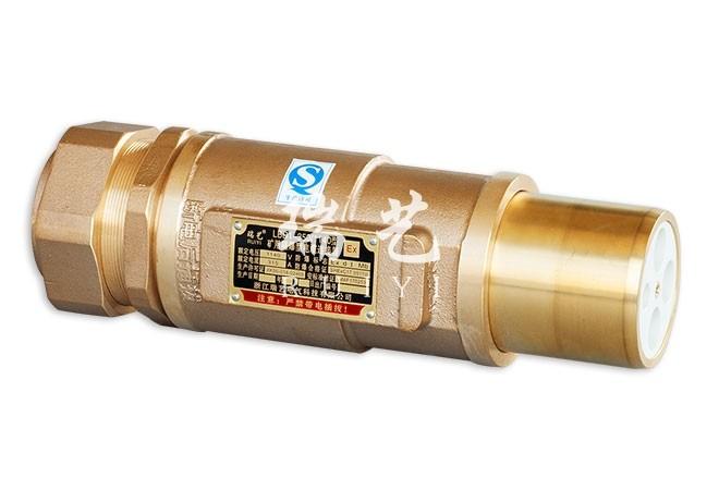 LBD1-350/1140 矿用隔爆型电缆连接器