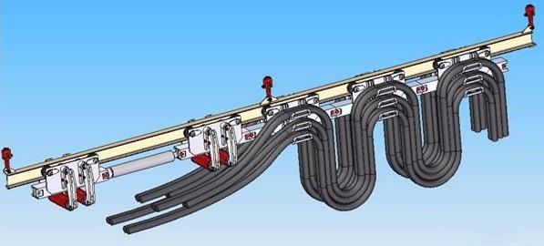 YBD矿用液力传动步进式管缆单轨托运装置