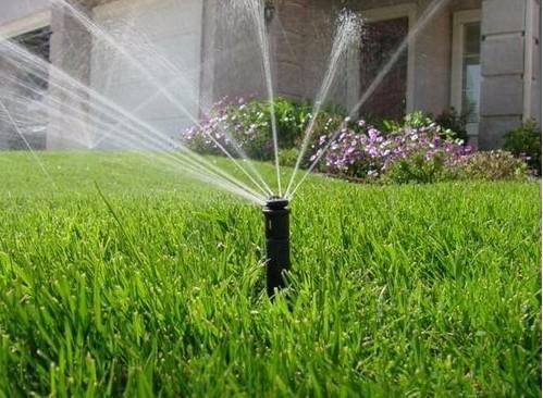 美国科雨喷灌喷头   360度可调园林洒水设备