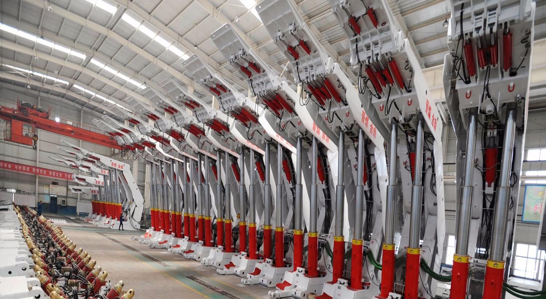 世界先进的煤机设备加工中心—山西晋煤金鼎煤机