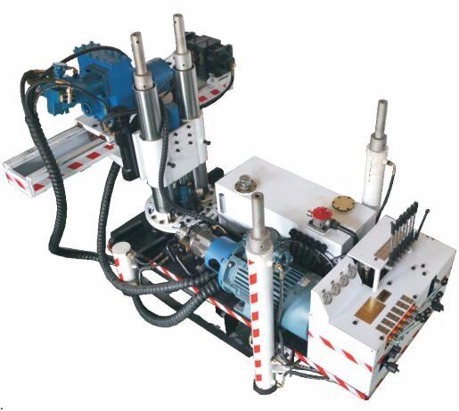 CMS1-1550/30煤矿用深孔钻车 井下探水钻机 绿履带式潜孔钻机