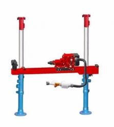 ZQJC-560/10.0气动架柱式钻机 煤矿井下风动探水钻机