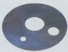 圆孔胶垫 喷射机配件