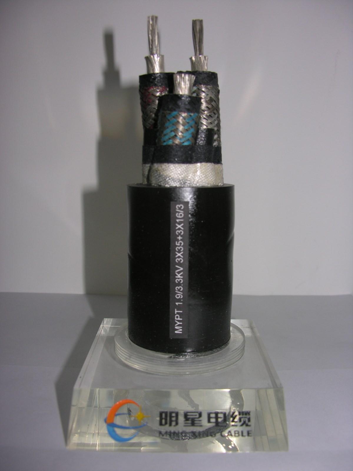煤矿用移动金属屏蔽橡套软电缆