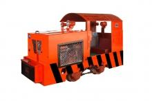 CCG3/600矿用防爆柴油机钢轮普轨机车