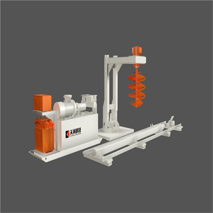 螺杆式混凝土搅拌器(拌料机器人)