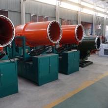 石沟驿矿煤棚装卸口湿式除尘设备KCS400高射程风送式喷雾机