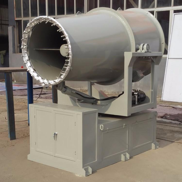 树儿里矿煤棚装卸口粉尘抑制雾炮机KCS400全自动防爆喷雾机