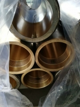 油缸表面外镀及缸筒内壁镀铬及铜合金