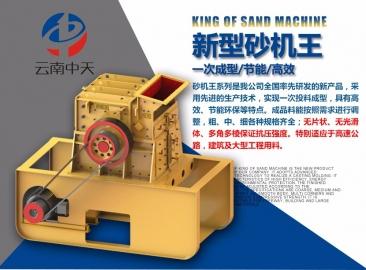 双配重高产量节能一次成型砂机王