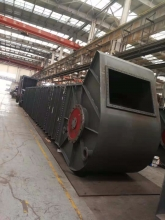斗式提升机 T矸石中煤脱水 链板滚轮跑轮斗提配件 输送设备 捞斗