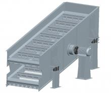 供应CVS系列圆振动筛打击式振动弧形筛振动筛监控预警系统