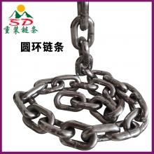 起重链条吊索具 矿用提升机圆环链条 g80不锈钢圆环链条